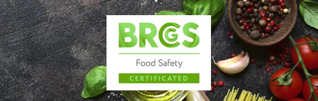 Create Flavours receives Grade A status from BRC Global Standards