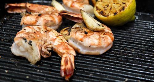 JULY: Chargrilled Shrimp