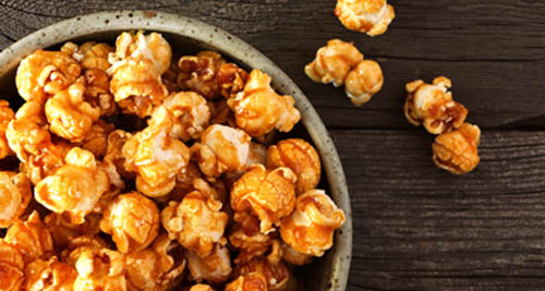 OCTOBER: Toffee popcorn